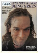 NEWSPAPER CLIPPING/ADVERT 8/10/94PGN16 R.E.E & MICHAEL STIPE
