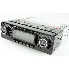 BLACK Retro Bluetooth Radio CD USB SD Card  Player