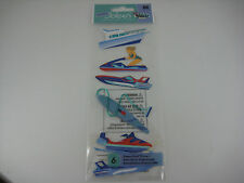 "A Touch Of Jolee's ""Water Sports"" Boat/Jet Ski - 6 pcs Dimensional Stickers"