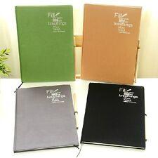 """""""Deep Breath"""" Big Blank Papers Drawing Sketchbook Art Notebook Diary Planner"""