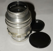 RARE USSR TAIR-11 133 mm f2.8 Silver M39 M42 Screw GOOD Canon adptbl 20 blades!