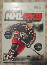 Nintendo Wii NHL 2K9 (Manual, box and game)