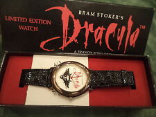 Bram Stoker's DRACULA Limited Ed Wrist Watch w/box New Never Worn
