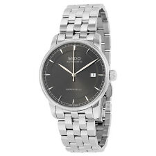 Mido Baroncelli II Automatic Black Dial Stainless Steel Mens Watch M86004131