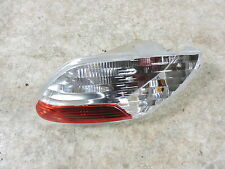10 Piaggio MP3 400 Scooter Vespa right rear back turn signal blinker tail light