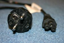 VOLEX Mains HP SONY Power Lead Cable European EURO EU Schuko IEC C5 Clover Leaf