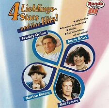 4 LIEBLINGS-STARS UND IHRE HITS : FREDDY QUINN, MARY ROOS, MEL JERSEY,... / CD