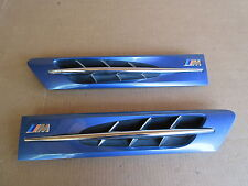 2000 BMW Z3 M Roadster E36 #1004 Hood Grill Set Exterior Pair Blue OEM