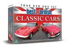 BEST OF BRITISH CLASSIC CARS - DVD - REGION 2 UK