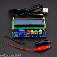 New LC100-A High Precision Digital Inductance Capacitance L/C Meter 5V/2A power