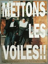 Affiche METTONS LES VOILES Nuns on the run JONATHAN LYNN Eric Idle 40x60cm *