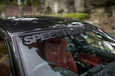 SPEEDHUNTERS CARBON STYLE SCREEN HEADER / WINDSHIELD BANNER - OFFICIAL