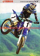YAMAHA YZ 80 125 250 ; YZ 80 LW - 2001 : Brochure - Dépliant - Moto       #0671#