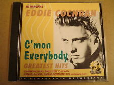 CD / EDDIE COCHRAN - C' MON EVERYBODY - GREATEST HITS