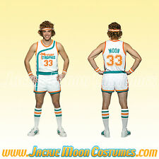 Jackie Moon Semi-Pro Jersey and Shorts Costume- Plus Size XXL Tropics Uniform