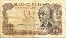 ESPAGNE 100 pts SPAIN ESPANA 1970 état voir scan 6z