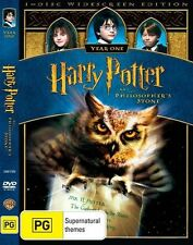 HARRY POTTER AND THE PHILOSOPHER'S STONE Daniel Radcliffe DVD R4 PAL