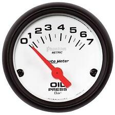 "Auto Meter 1 5/8"" Gauge Psi White 2176 2212-0004"