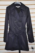 NWT Women's DKNY Double Breasted Trench Coat with Detachable Hood. Sz.M, $200.
