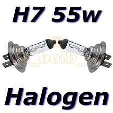 H7 2 Pin Halogen 55w Replacement Halogen Dip Headlight Bulbs Pair Road Legal