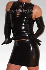 Latex Rock Minirock Mikrorock Mini Mikro Micro Skirt Rubber XXS-XL