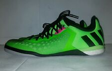 NEW ADIDAS Ace 16.1 Men's Court Indoor Soccer Shoes Solar Green Af4249 Size 12