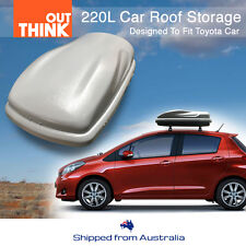 220L Car Roof Storage Pod Vehicle Rooftop Luggage Rack Storage Box Carrier