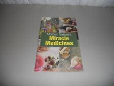 Mother Nature's Miracle Medicines Prevention Health Books Rodale