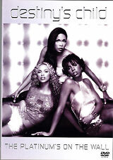 DESTINY´S CHILD the platinum´s of the wall DVD NEU OVP/Sealed