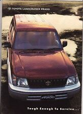 1997 TOYOTA LAND CRUISER J90 PRADO Australian Brochure & Spec Sheet