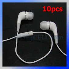 10pcs Stereo In Ear Headphone for iPod Touch 5 iPhone 4S i Pad2 Headset with Mic