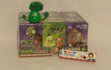 Plants vs. Zombies {6 Chocolate Eggs with Toy Surprise/Free, 1 Kinder Choc Bar!}