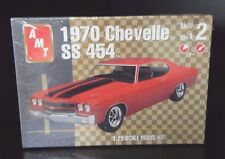 New Sealed AMT 1970 Chevelle SS 454 1:25 Scale Model Kit
