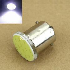 Super Bright 1156 BA15S COB LED Bulb Car Rear Turn Signal Light DC 12V White
