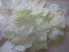 1000 IVORY WEDDING  ARTIFICIAL  SILK  ROSE PETALS WEDDING