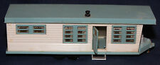 Original Vintage Toy Plastic Mobile Home Travel Trailer Dealer Promo