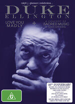 Duke Ellington - Love You Madly At Grace Cathedral New DVD Region 4 Sealed