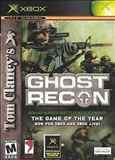 Tom Clancy's Ghost Recon XBOX Disc Only No Case No Manua Action Shooter Game