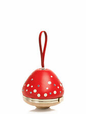 KATE SPADE NEW YORK BLAZE A TRAIL RED MUSHROOM WRISTLET DUST BAG PXRU6101 $348