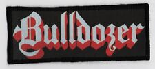 BULLDOZER PATCH / SPEED-THRASH-BLACK-DEATH METAL