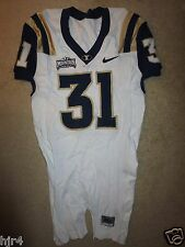 Byu Brigham Young University Cougars #31 Nike Team Football Game Worn Jersey 40