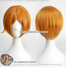 Cosplay wigEnsemble Stars Aoi Hinata Cosplay wig costume Orange colour