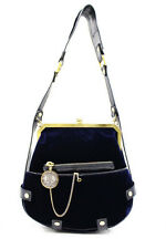 LANVIN Velvet Bag With Pouch Free Shipping World Wide