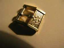 Vintage Eterna 8mm Gold Plated Buckle in excellent pre-owned condition
