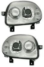 2 FEUX PHARE OPTIQUE LOOK V6 RENAULT CLIO 2 II SPORT WAY 2 NEUF