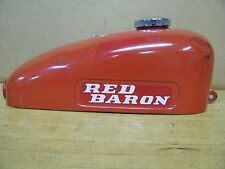 Vintage Speedway Minibike Gas Tank   Red Baron   Green Horn Blue Angel Chopper