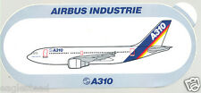 Baggage Label - Airbus - A310 - House - Rainbow Tail - Sticker (BL442)