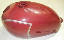 1958-1966 Matchless G2 250cc NOS gas petrol tank original red paint, but DAMAGED