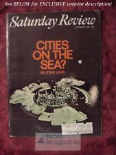 Saturday Review December 4 1971 SEA CITIES ALEXANDER B. SMITH HARRIET POLLACK