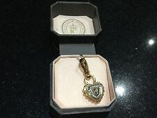 Nuevo En Caja Juicy Couture Nuevo Y Genuino Gold & Diamanté Candado encanto en CAJA con LOGOTIPO